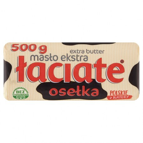 Łaciate Masło Osełka 500g