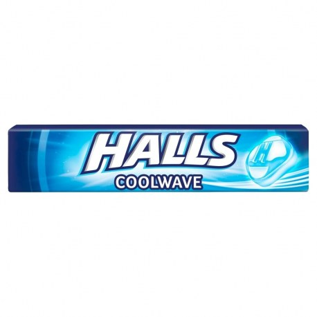 Cukierki Halls Coolwave 33,5 g x 20 sztuk
