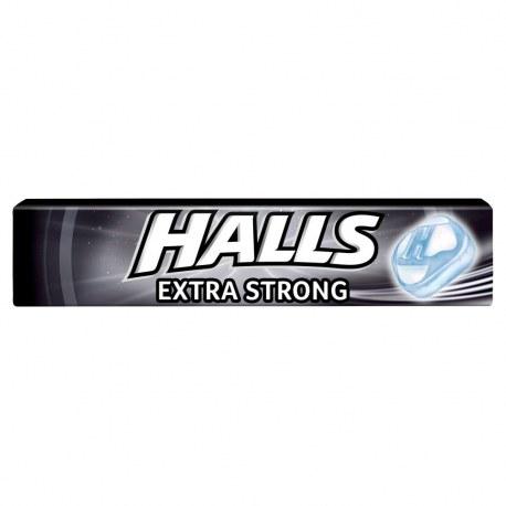 Cukierki Halls Extra Strong 33,5 g x 20 sztuk