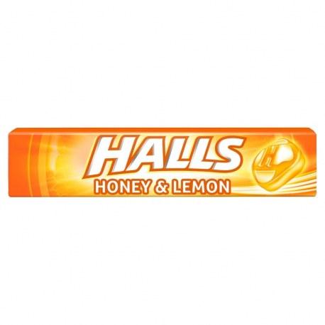 Cukierki Halls Honey & Lemon 33,5 g x 20 sztuk