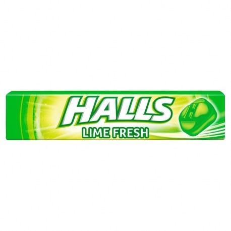 Cukierki Halls Lime Fresh 33,5 g x 20 sztuk