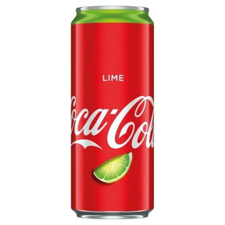 COCA COLA Lime Limonka 330 ml x 24 sztuki