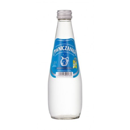 Piwniczanka gazowana 0.3l. szkło X 9 butelek