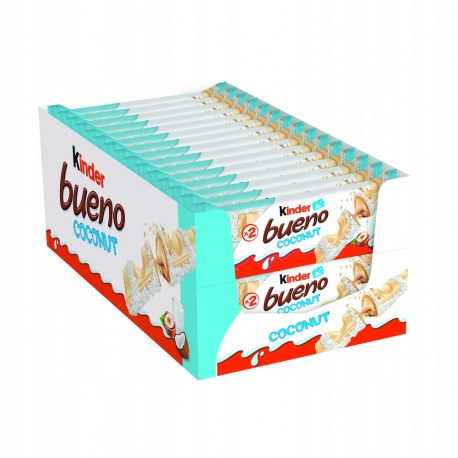 Kinder Bueno COCONUT 39g x 30 sztuk