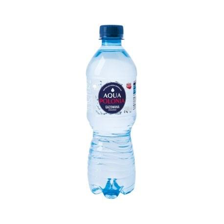 Aqua Polonia gazowana 0.5l. 1368 butelek PALETA