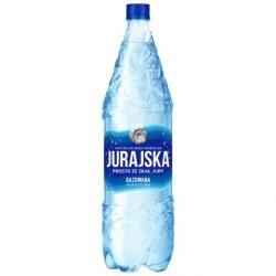 Jurajska 1.5 l. gazowana 456 butelek PALETA