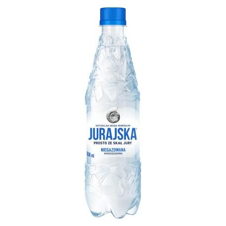 Jurajska 0.5 l. niegazowana 1296 butelek PALETA