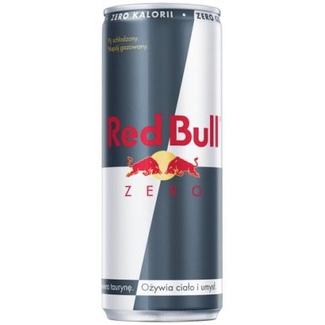 Red Bull Energy Drink ZERO 250 ml x 24 sztuki