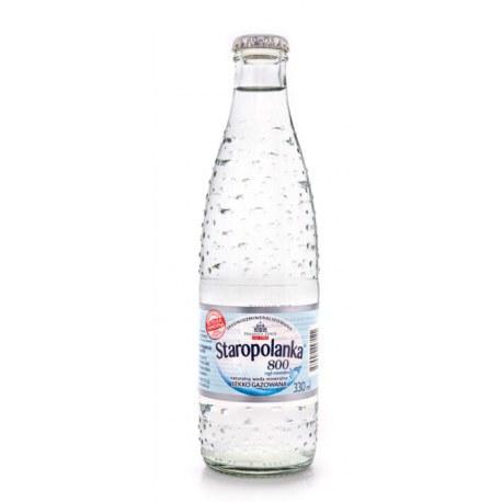 Staropolanka ZWROTNA lekko gazowana 0.33 l. x 20 butelek