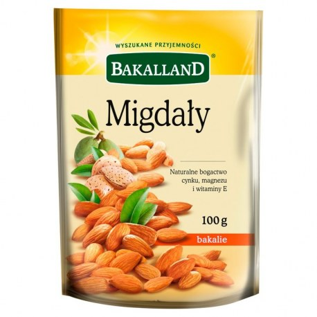 Bakalland Migdały 100g