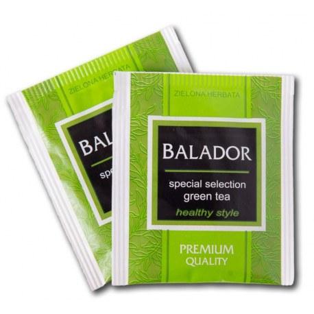 Herbata kopertowana Balador Zielona 100 sztuk