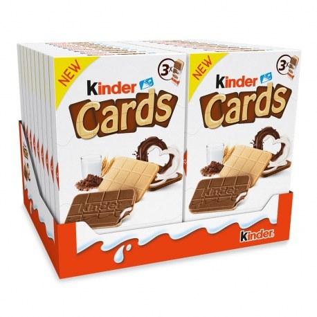 KINDER KINDER CARDS 3X25.6G X 18 SZTUK