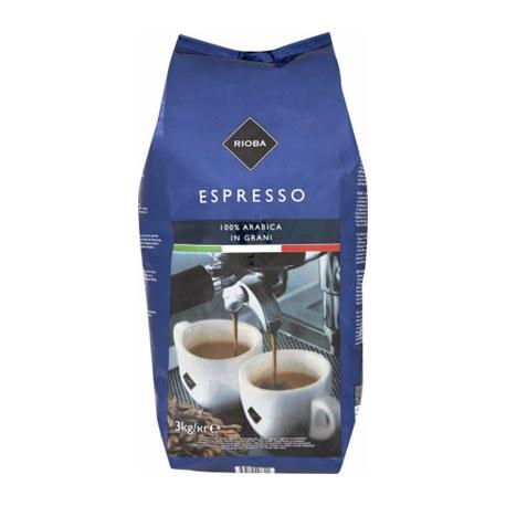 Rioba Espresso Platinum Kawa ziarnista prażona 3 kg