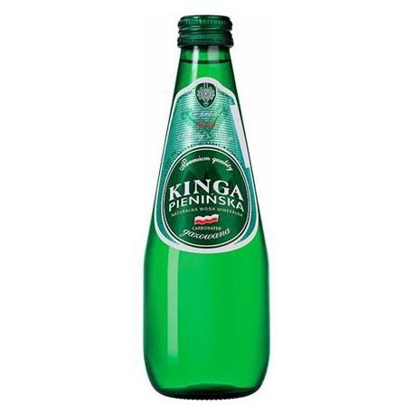 Woda Kinga Pienińska gaz Szkło 0.3l 12 sztuk