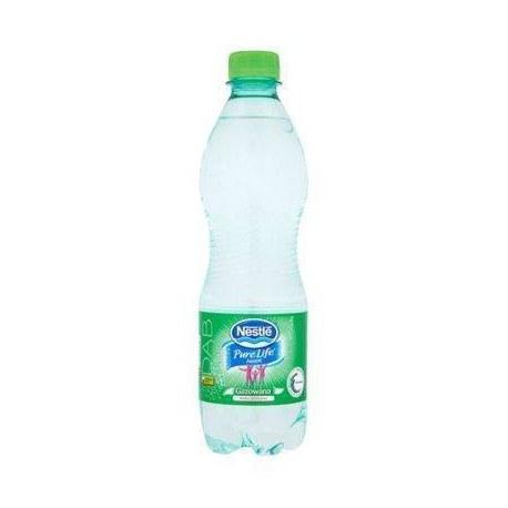 Woda Nestle Aquarel 0.5l gazowana 12 sztuk