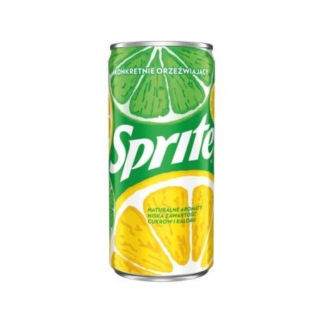 24 sztuki SPRITE 200 ml