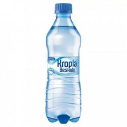 Woda Kropla Beskidu gazowana 0.5l 12 sztuk