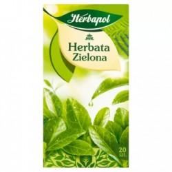HERBAPOL Herbata zielona 20 torebek 40 g