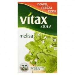 VITAX Melisa 20 torebek