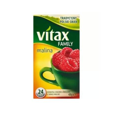 VITAX FAMILY Malinowa 24 torebki