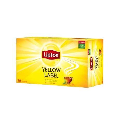 LIPTON Yellow Label 50 torebek