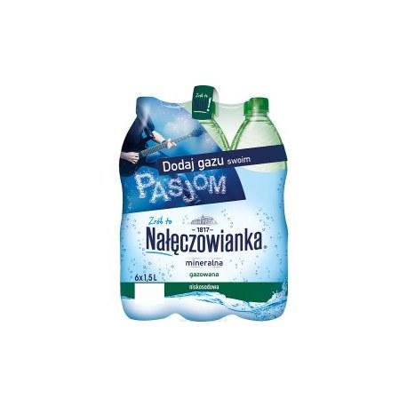 NAŁĘCZOWIANKA 1.5 l. gazowana 504 butelki PALETA