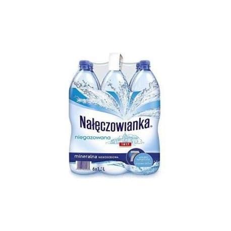NAŁĘCZOWIANKA 1.5 l. niegazowana 504 butelki PALETA
