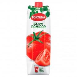 Fortuna Sok Pomidorowy 100% 1l. x 12 sztuk