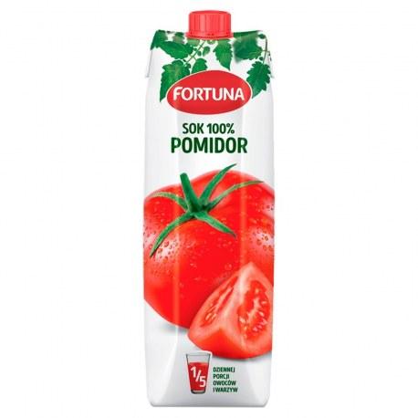 Fortuna Sok Pomidorowy 100% 1l.