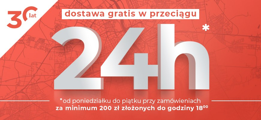 Darmowa dostawa na terenie Warszawy !